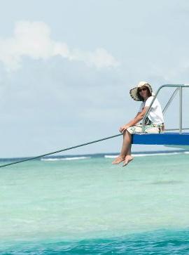 Nono aux Maldives
