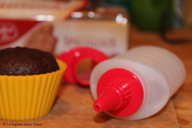cupcake chocolat glaçage spéculoos