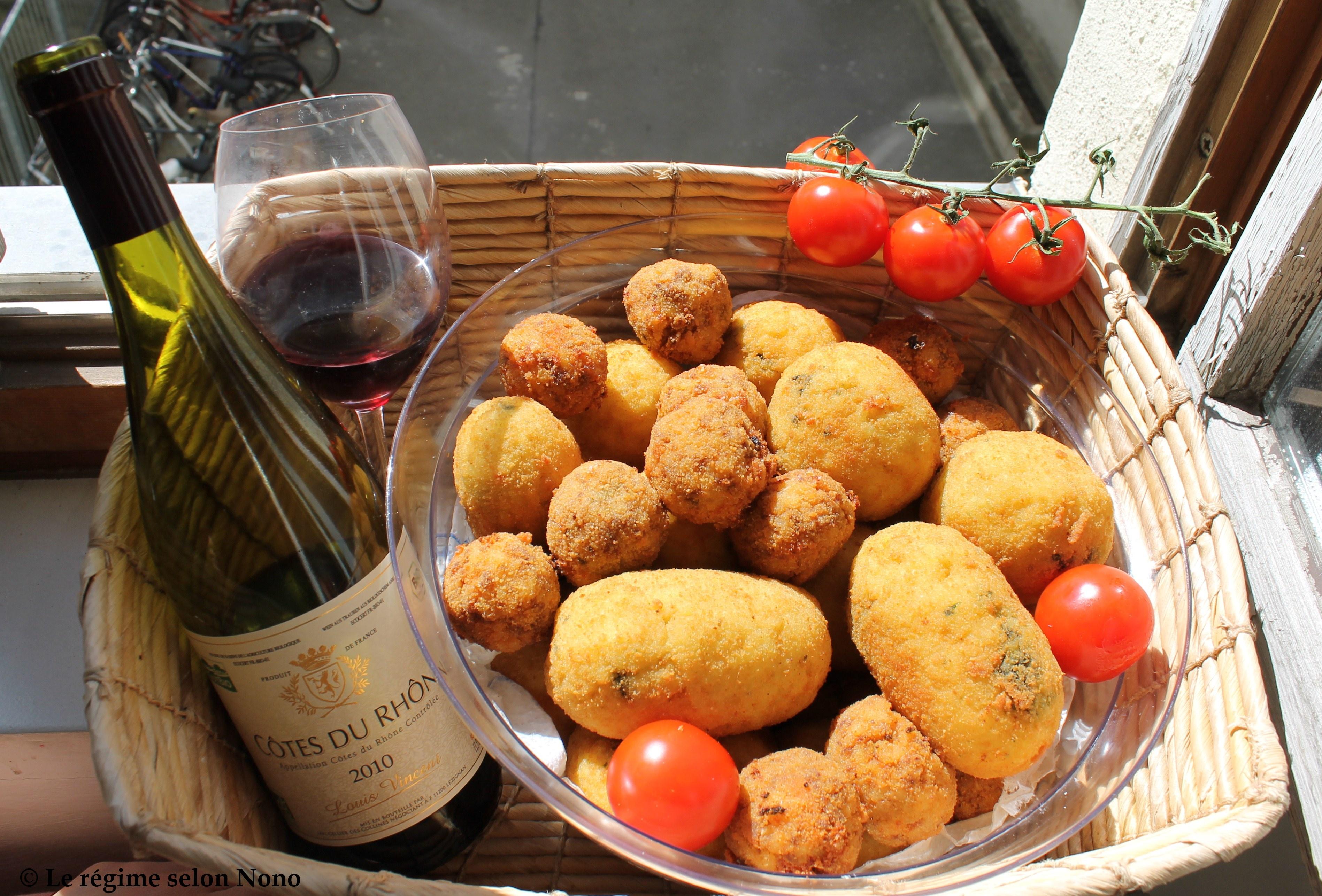 Arancini avec une sicilienne blogs de cuisine - Cuisine sicilienne arancini ...