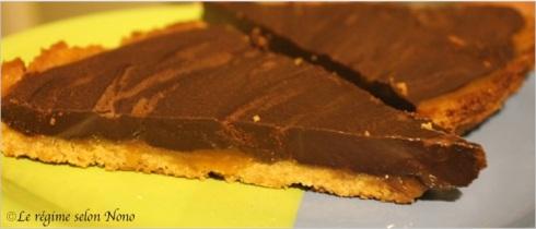 tarte au chocolat et au salidoux