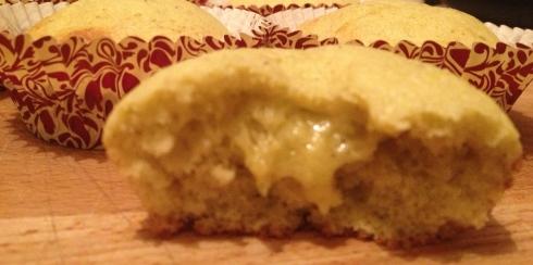 cupcake à la crème pistache