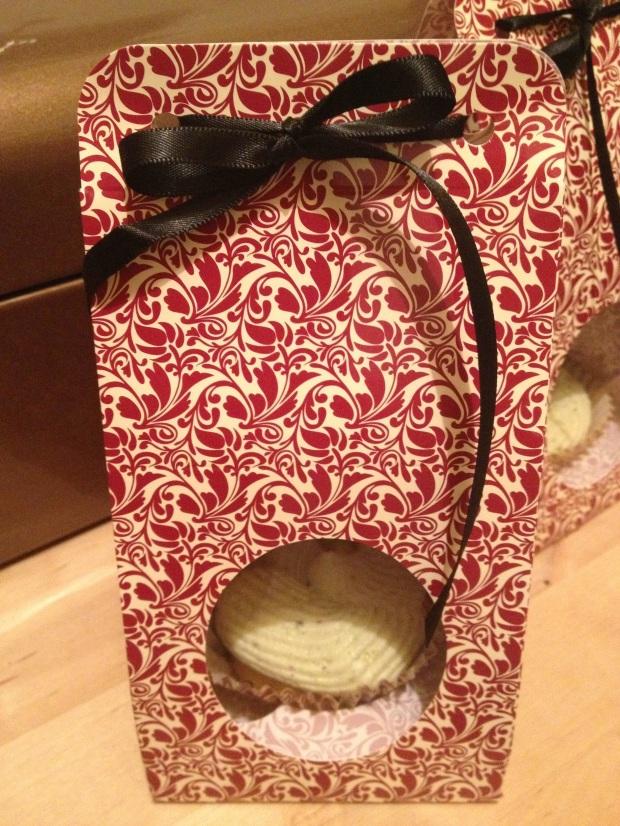 cadeau cupcake pistache