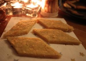 Biscuit au Romarin selon Nono