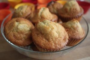 recette de muffin chocolat blanc banane