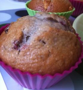 muffin framboise