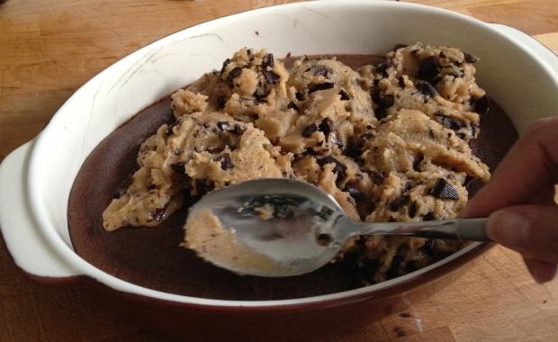 recette mi-cookies mi brownie