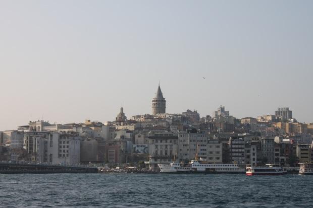 Vue de la tour Léandre, Istanbul