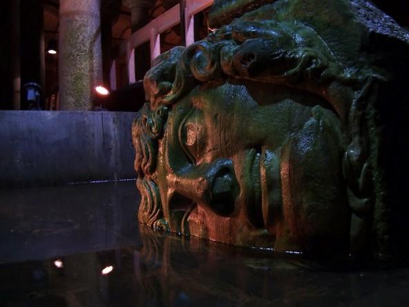 Medusa Citerne Basilique Istanbul