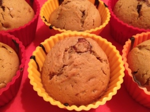 muffin speculoos chocolat