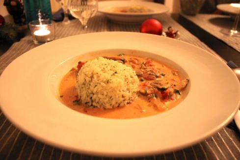 recette riz poulet tomate