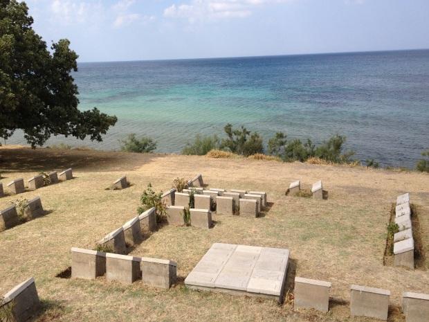 Galipolie au bord de la Mer Egée