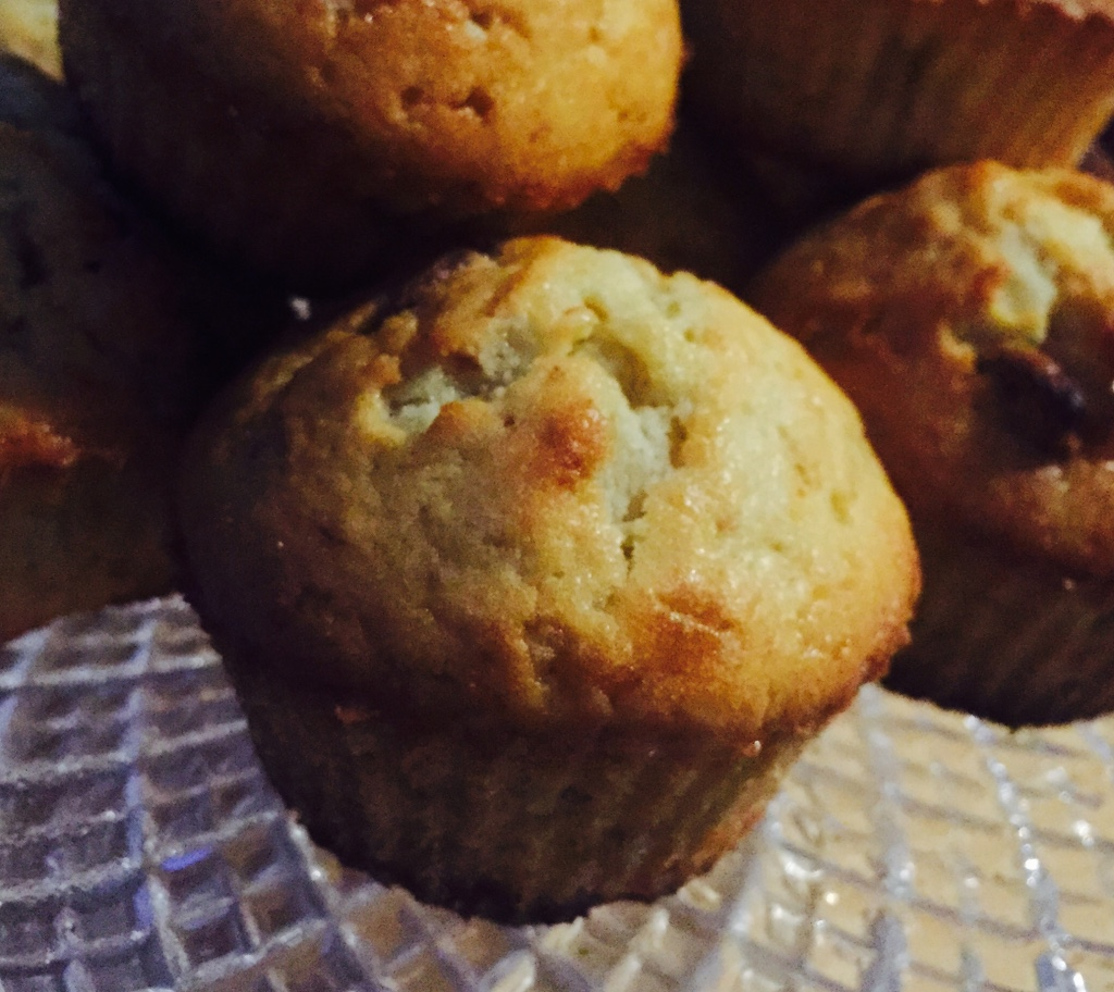 muffins banane et chocolat blanc le r gime selon nono. Black Bedroom Furniture Sets. Home Design Ideas
